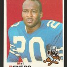 1969 Topps football card #254 Mel Renfro NM (miscut) Dallas Cowboys