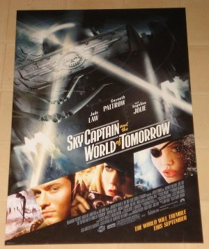 Sky Captain & The World of Tomorrow MINI movie poster 13x19.5 rolled Gwyneth Paltrow, Angelina Jolie