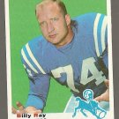 1969 Topps football card #185 (B) Billy Ray Smith EX Baltimore Colts