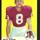 1969 Topps football card #65 (B) Larry Wilson VG/EX St. Louis Cardinals