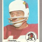 1969 Topps football card #247 (B) Charley Johnson VG (crease at top) St. Louis Cardinals