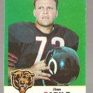 1969 Topps football card #3 (B) Jim Cadile VG/EX Chicago Bears