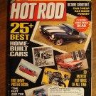 Hot Rod magazine December 2001, 25 best homebuilt cars, 20 fastest hot rods, octane shootout
