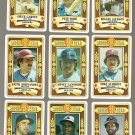 1982 Perma Graphics Super-Star complete baseball card set - Rose, Schmidt, Carew, many more!