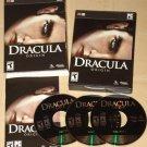 Dracula Origins PC computer video game MIB  3 CD's blood sucking Vampire action Twilight