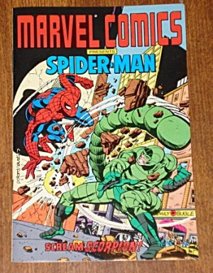 Marvel Comics Presents Spider-man MINI comic book (spiderman) w/ The Scorpion