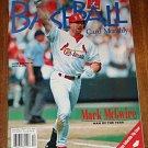 Beckett baseball card price guide magazine December 1998 (12/98) Mark McGwire & Sammy Sosa