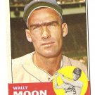 1963 Topps baseball card #279 Wally Moon VG/EX Los Angeles Dodgers