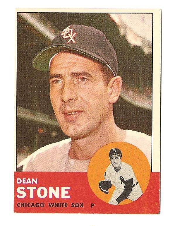 1963 Topps baseball card #271 Dean Stone VG/EX Chicago White Sox