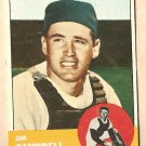 1963 Topps baseball card #373 Jim Campbell Vg Houston Colt 45&#39;s