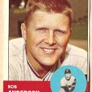 1963 Topps baseball card #379 Bob Anderson NM Detroit Tigers