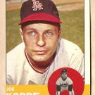 1963 Topps baseball card #396 Joe Koppe EX/NM Los Angeles Angels