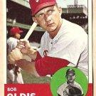 1963 Topps baseball card #404 Bob Oldis VG/EX Philadelphia Phillies