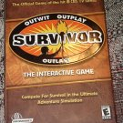Survivor TV show CD-ROM PC computer video game - MIB,  never played