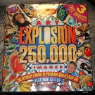 Windows Art Explosion library of 250,000 graphic images - 21 CD's, MIB, 1292 page book! w/ extras!!