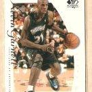 1999 - 2000 Upper Deck SP Authentic promo promotional basketball card #KG Kevin Garnett NM/M