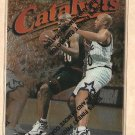 1997 - 1998 Topps Finest promo promotional basketball card #80 C11 Gary Payton , unpeeled