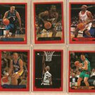 1999 - 2000 Topps promo promotional basketball card #PP1 - PP6 - set of 6 NM/M