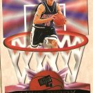 1998 Press Pass Netburners promo promotional basketball card Mike Bibby, diecut