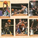 1999 - 2000 Topps Stadium Club Authentic promo promotional basketball card #PP1 - PP6 set of 6 NM/M