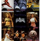 1995 Fleer Ultra Power Rangers Premiere Edition promo promotional 9 card uncut sheet, NM/M
