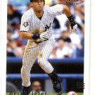 2002 Fleer Triple Crown promo promotional baseball card #2 Derek Jeter NM/M