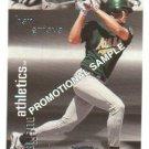 1999 Fleer Thunder promo promotional baseball card #247 Ben Grieve NM/M