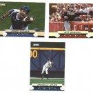 2001 Topps Stadium Club promo promotional baseball card Andruw Jones Jeff Bagwell Jorge Pasada