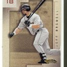 2001 Fleer Showcase promo promotional baseball card #97 Jeff Bagwell NM/M