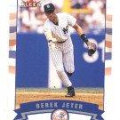 2002 Fleer promo promotional baseball card #279 Derek Jeter NM/M