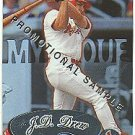 1999 Fleer Mystique promo promotional baseball card #113 J.D. Drew NM/M