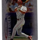 1999 Skybox Molten Metal promo promotional baseball card #144 Scott Rolen NM/M made of aluminum