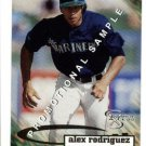 1998 Skybox Dugout Axcess promo promotional baseball card #15 Alex Rodriguez Arod NM/M