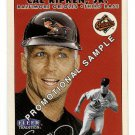 2000 Fleer Tradition promo promotional baseball card #353 Cal Ripken Jr. NM/M