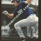 2000 Fleer Dominion promo promotional baseball card #211 Alex Rodriguez Arod NM/M
