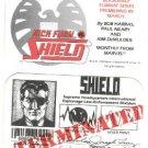 Marvel Comics Nick Fury vs SHIELD ID card (Identification) 1988 NM/M