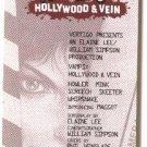 "DC / Vertigo comics Vamps flyer / bookmark, 1995, NM/M about 3"" x 6"" female vampires"