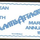 Marvel Comics Atlantic Attacks promotional Sponge - compressed - never used! 1988