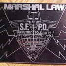 """Marshal Law promo promotional sticker, About 2 1/2"""" x 4 1/2"""", NM/M 1997"""