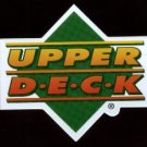 "Upper Deck Logo magnet, about 2.25"" x 2.5"", NM/M"