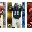 2000 Collector's Edge T3 promo promotional football card set of 7 Sylvester Morris Corey Simon