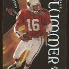 1999 Skybox EX Century promo promotional football card #26 Jake Plummer clear acetate NM/M
