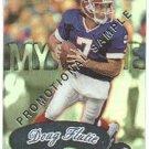 1999 Fleer Mystique promo promotional football card #86 Doug Flutie NM/M