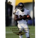 1999 Collector's Edge promo promotional football card CMC Chris McAlister NM/M