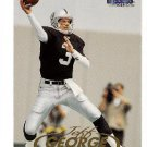 1999 Fleer Tradition promo promotional football card #16 Jeff George NM/M