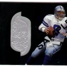 1998 Upper Deck SPX promo promotional football card #8 Troy Aikman NM/M