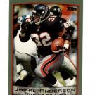 1999 Topps promo promotional football card #PP1 Jamal Anderson NM/M