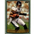 1999 Topps promo promotional football card #PP3 Keenan McCardell NM/M