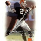 2000 Fleer Dominion promo promotional football card #1 Tim Couch NM/M