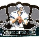 2000 Pacific Crown Royale promo promotional football card die-cut Jon Kitna NM/M